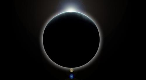 Solar eclipse on march 20