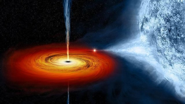 US scientists map star's death by black hole