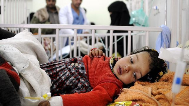 WHO sends massive aid delivery to cholera-hit Yemen
